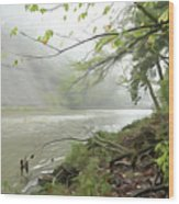 Rocky River #1 Wood Print