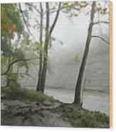 Rocky River #2 Wood Print