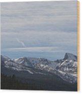 Rocky Sawtooth Wood Print