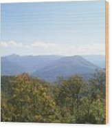 Rocky Top Tennessee 1 Wood Print