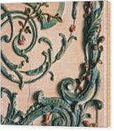 Rococo Wood Print