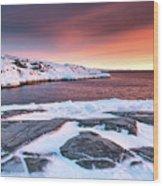 Rodebay Sunset Wood Print