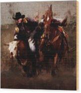 Rodeo Wood Print