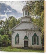 Rodney Baptist Church Wood Print