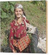 Rodopean Women-2 Wood Print