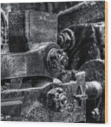 Rods Of Steel Wood Print