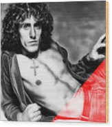 Roger Daltrey Collection Wood Print