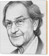 Roger Penrose Wood Print