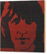 Roger Waters Wood Print