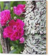 Rogue Rose Wood Print