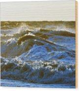 Rolling Waters Wood Print