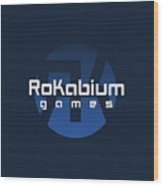 Rokabium Games Logo Wood Print