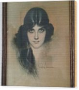 Rolf Armstrongs Dream Girl 1929 Wood Print