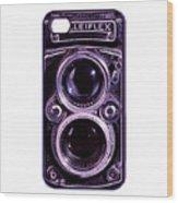 Eye Rolleiflex Euphoria Wood Print