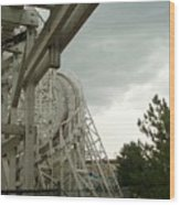 Roller Coaster 5 Wood Print