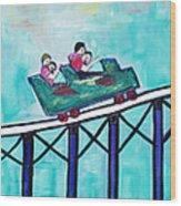 Roller Fun Wood Print