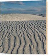 Rolling Dunes Wood Print