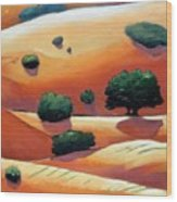 Rolling Trip Panel IIi Wood Print