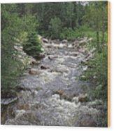 Rollingstone River Wood Print