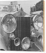 Rolls Royce A1 Used Car Wood Print
