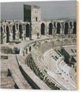 Roman Amphitheatre, Arles Wood Print