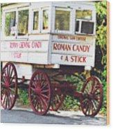 Roman Candy Wood Print