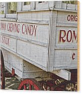 Roman Chewing Candy - Surreal Wood Print