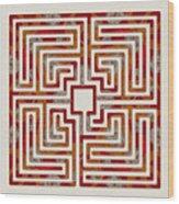 Roman - Earth Wood Print