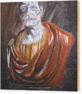 Roman Emperor Wood Print