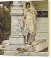 Roman Fisher Girl Wood Print