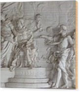 Roman Frieze Wood Print