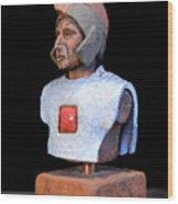 Roman Legionaire - Warrior - Ancient Rome - Roemer - Romeinen - Antichi Romani - Romains - Romarere  Wood Print by Urft Valley Art