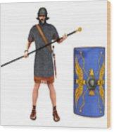 Roman Marine Optio 1st Cen Ad Wood Print