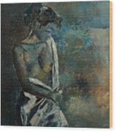 Roman Nude 45 Wood Print