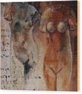 Roman Nudes 45 Wood Print