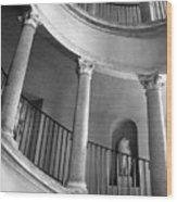 Roman Staircase Wood Print