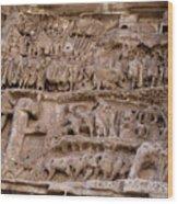 Roman Wall Wood Print