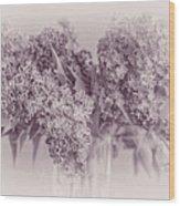 Romancing The Lilac Wood Print
