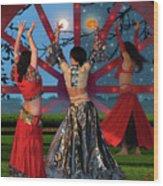 Romani Dance Wood Print