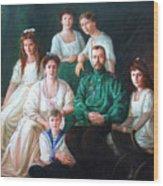 Romanov Family Portrait Wood Print