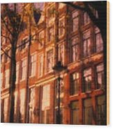 Romantic Amsterdam Wood Print
