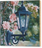 Romantic Fragrance Wood Print