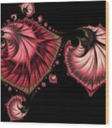 Romantically Jewelled Abstract Wood Print
