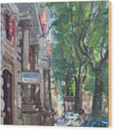 Rome A Small Talk By Barbiere Mario Wood Print