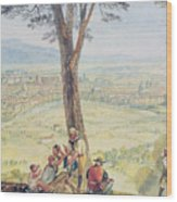 Rome From Monte Mario Wood Print
