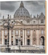Rome Italy St. Peter's Basilica Wood Print