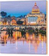 Rome - St Peter  Wood Print
