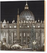 Rome Vatican Wood Print