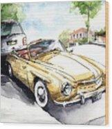 Rometsch-volkswagen Sports Wood Print