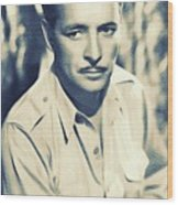 Ronald Colman, Hollywood Legend Wood Print